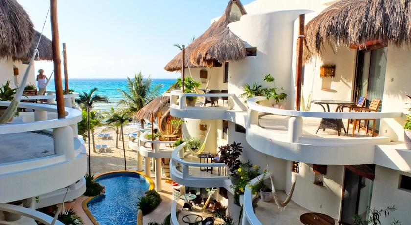 Foto of the Playa Palms Beachfront Hotel, Playa del Carmen (Quintana Roo)