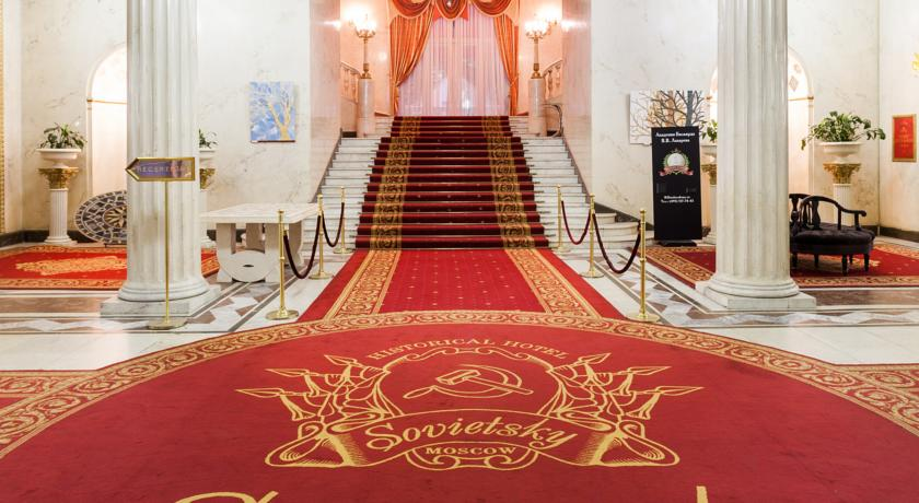 Foto of the Historical Hotel Sovietsky, Moscow