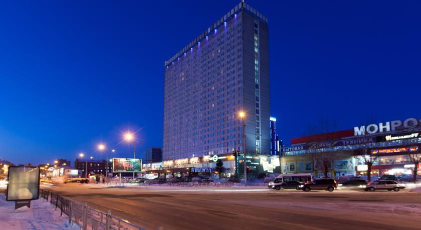 обь новосибирск отель: