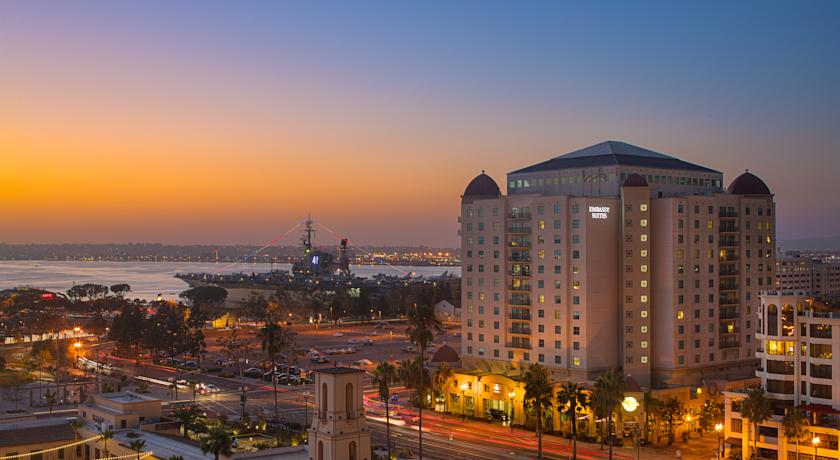 Foto of the hotel Embassy Suites San Diego Bay Downtown, San Diego (California)