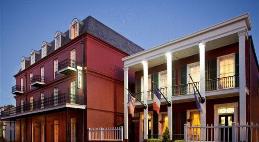 Foto of the hotel Le Richelieu in the French Quarter, New Orleans (Louisiana)