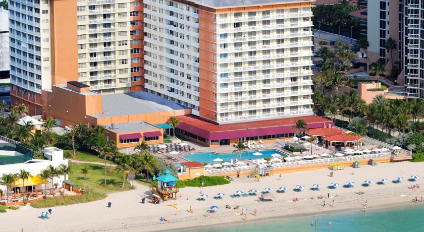 Photo de Ramada Plaza Marco Polo Beach Resort, Sunny Isles Beach (Florida)