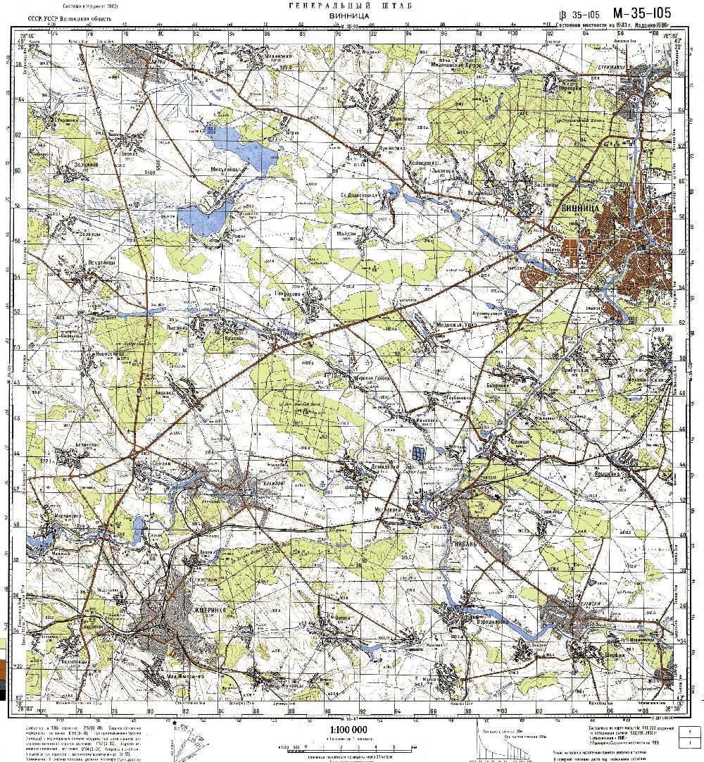 Запад Винница   Подробная топографическая карта Винницы ...: http://www.orangesmile.com/maps/ukraine/vinnitsa-west.htm