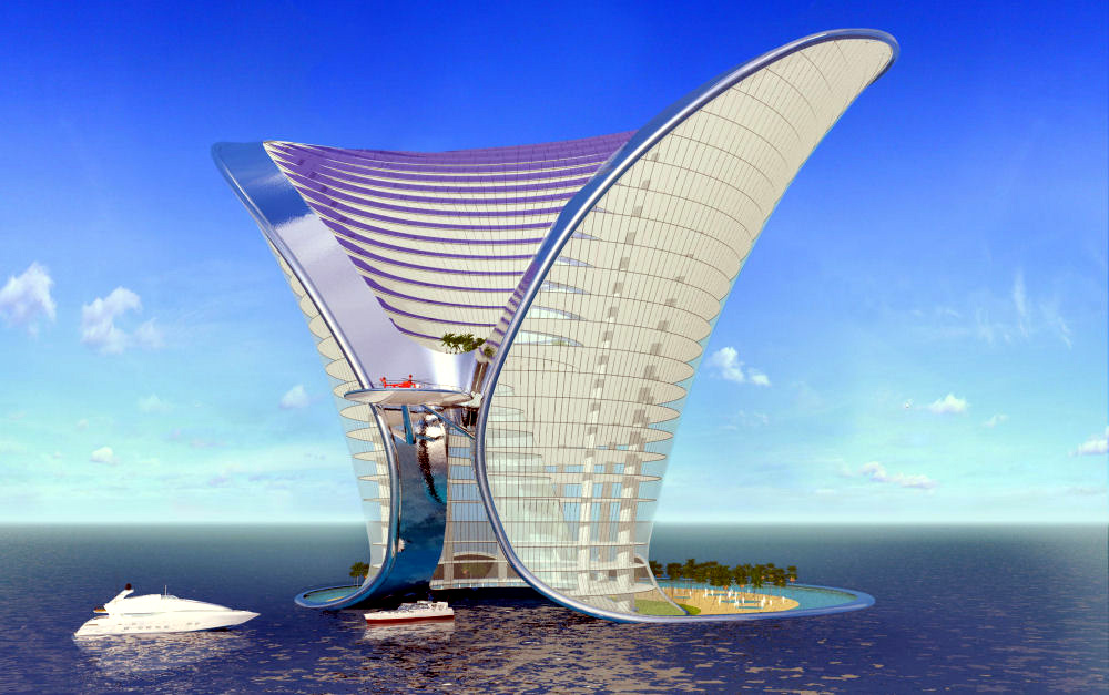 Most futuristic hotels in the world top 10 impressive for Top 10 design hotels