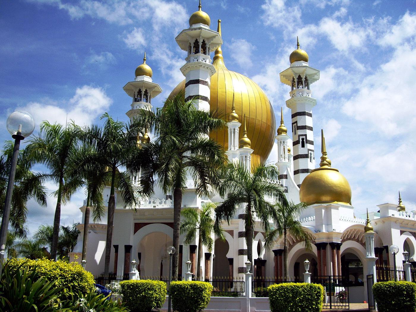 Kuala Kangsar Malaysia  City pictures : ubudiah moschee ort kuala kangsar malaysia auf der karte jahr 1917 ...