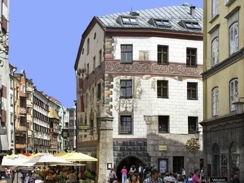 Visiting innsbruck old charming hotels of innsbruck with for Designhotel innsbruck