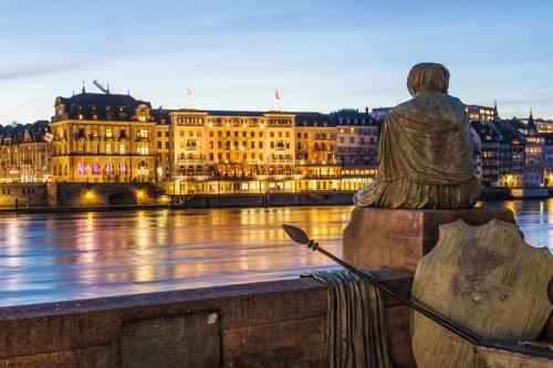 Foto von Grand Hotel Les Trois Rois, Basel